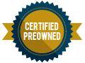 Certified preowned badge